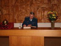 Ocenění pana Miloše Fridricha titulem ZASLOUŽILÝ HASIČ –  20. listopadu 2006 –  Zámek Přibyslav – foto č. 4/10