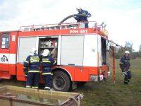 Praktický výcvik velitelů a strojníků JSDHO – 13.10.2007 – Stará Boleslav – foto č. 3/26