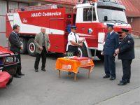 Slavnostní předání techniky – 31.7.2007 – Čelákovice – foto č. 3/19