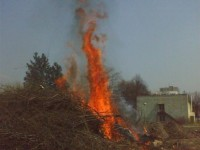 Školení – Dozor nad pálením a hašení pěnou – 18.4.2008 – areál TOS Čelákovice – foto č. 1/25