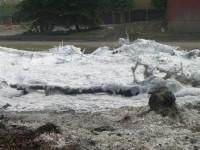Školení – Dozor nad pálením a hašení pěnou – 18.4.2008 – areál TOS Čelákovice – foto č. 24/25