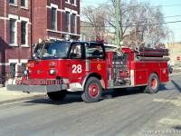 14. CFD American LaFrance Century Pumper – Engine 28, možná právě tento vůz byl použit jako Engine 24, 27 a 17