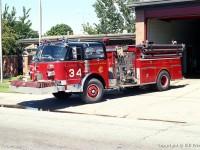 13. CFD American LaFrance Century Pumper – Engine 34, možná právě tento vůz byl použit jako Engine 24, 27 a 17
