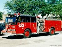 3. Chicago Ward LaFrance Engine 122, velmi podobná Engine 17 z filmu