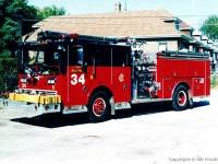 2. Chicago Ward LaFrance Engine 34, velmi podobná Engine 17 z filmu