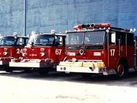 11. Engine 24, 67 a 17 použité při natáčení filmu Backdraft