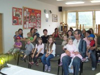 Návštěva dětí z Mateřského centra u SDH Čelákovice – květen 2011 – foto č. 1/10