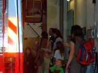 Návštěva dětí z Mateřského centra u SDH Čelákovice – květen 2011 – foto č. 9/10