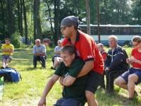 Výcvik na vodě – 10-12.6.2011, Veltrusy – Ukázka manipulace s raněným