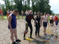 Výcvik na vodě – 10-12.6.2011, Veltrusy – Házení záchranného lana