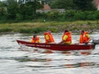 Výcvik na vodě – 10-12.6.2011, Veltrusy – Jízda na člunech