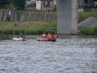 Výcvik na vodě – 10-12.6.2011, Veltrusy – Vlečení člunu na laně