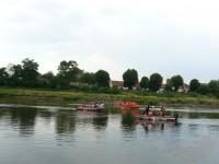 Výcvik na vodě – 10-12.6.2011, Veltrusy – Jízda ve skupině proti sobě