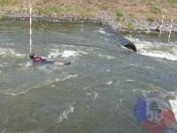 Výcvik v dravé vodě – 2012, Veltrusy – Pasivní plavání v dravé vodě