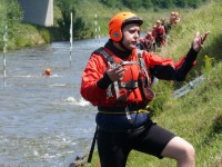 Výcvik v dravé vodě – 2012, Veltrusy – Petr Nový, hlavní instruktor