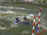 Výcvik v dravé vodě – 2012, Veltrusy – Pasivní plavání v dravé vodě ve dvojici