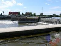 Výcvik v dravé vodě – 2012, Veltrusy – Výlet na lodích – zdimadla Vraňany
