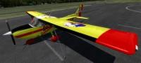 Cessna 172 SDH Čelákovice s červeným pruhem OK-CVF – Letecké simulace – obrázek 1/8