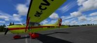 Cessna 172 SDH Čelákovice s červeným pruhem OK-CVF – Letecké simulace – obrázek 2/8