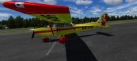 Cessna 172 SDH Čelákovice s červeným pruhem OK-CVF – Letecké simulace – obrázek 3/8