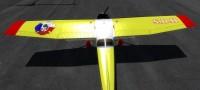 Cessna 172 SDH Čelákovice s červeným pruhem OK-CVF – Letecké simulace – obrázek 5/8