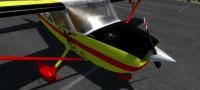 Cessna 172 SDH Čelákovice s červeným pruhem OK-CVF – Letecké simulace – obrázek 6/8
