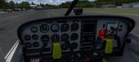 Cessna 172 SDH Čelákovice s červeným pruhem OK-CVF – Letecké simulace – obrázek 7/8